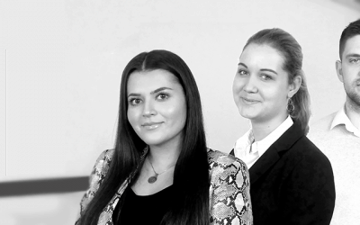 Meet our newest interns: Plamen, Vanessa and Rozanne